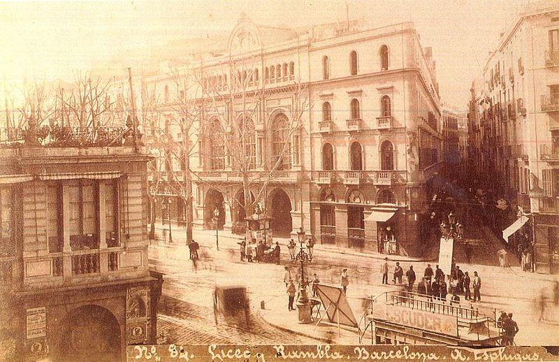 Arxiu De La Societat Del Gran Teatre Del Liceu