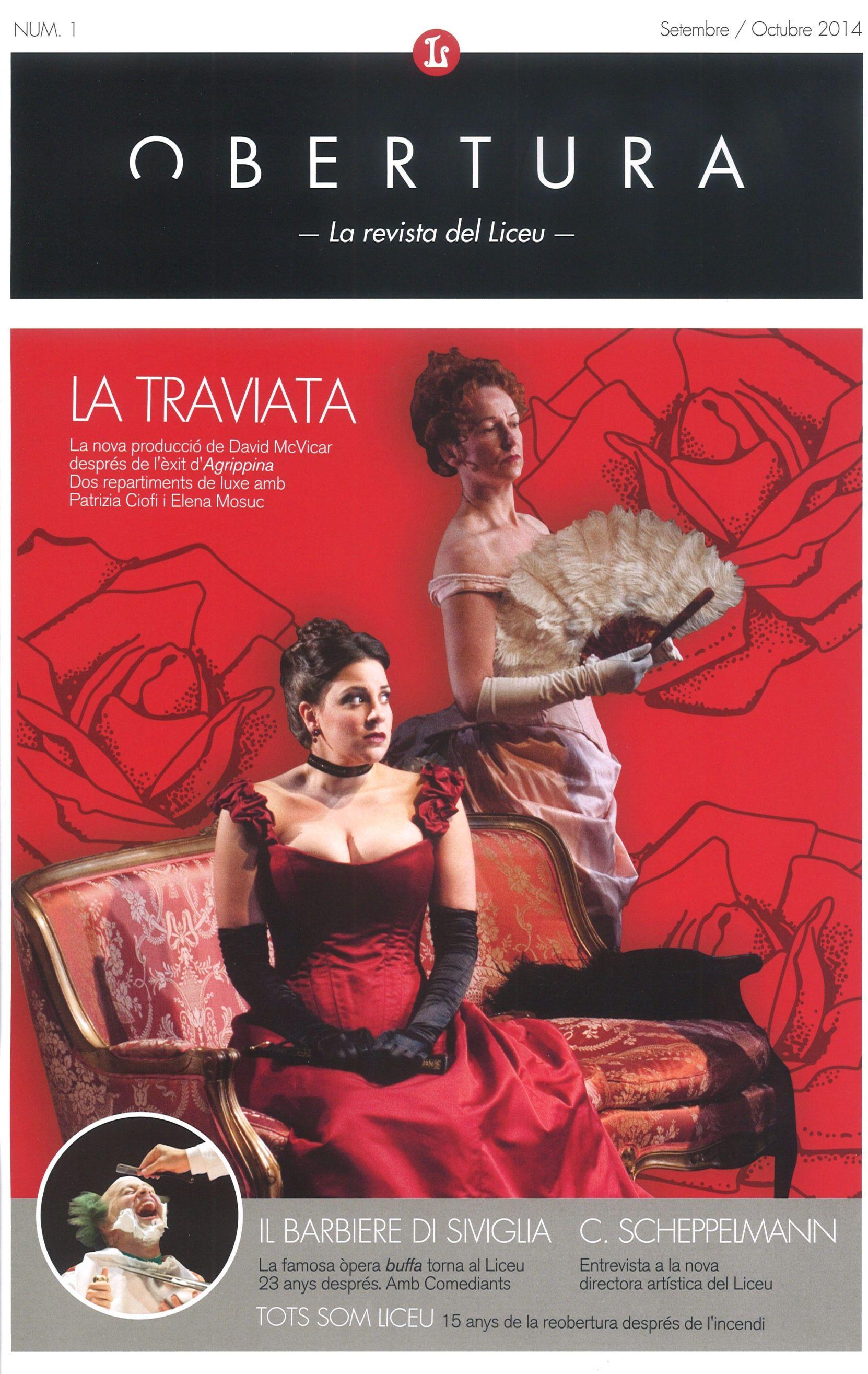 OBERTURA, La Nova Revista Del Liceu