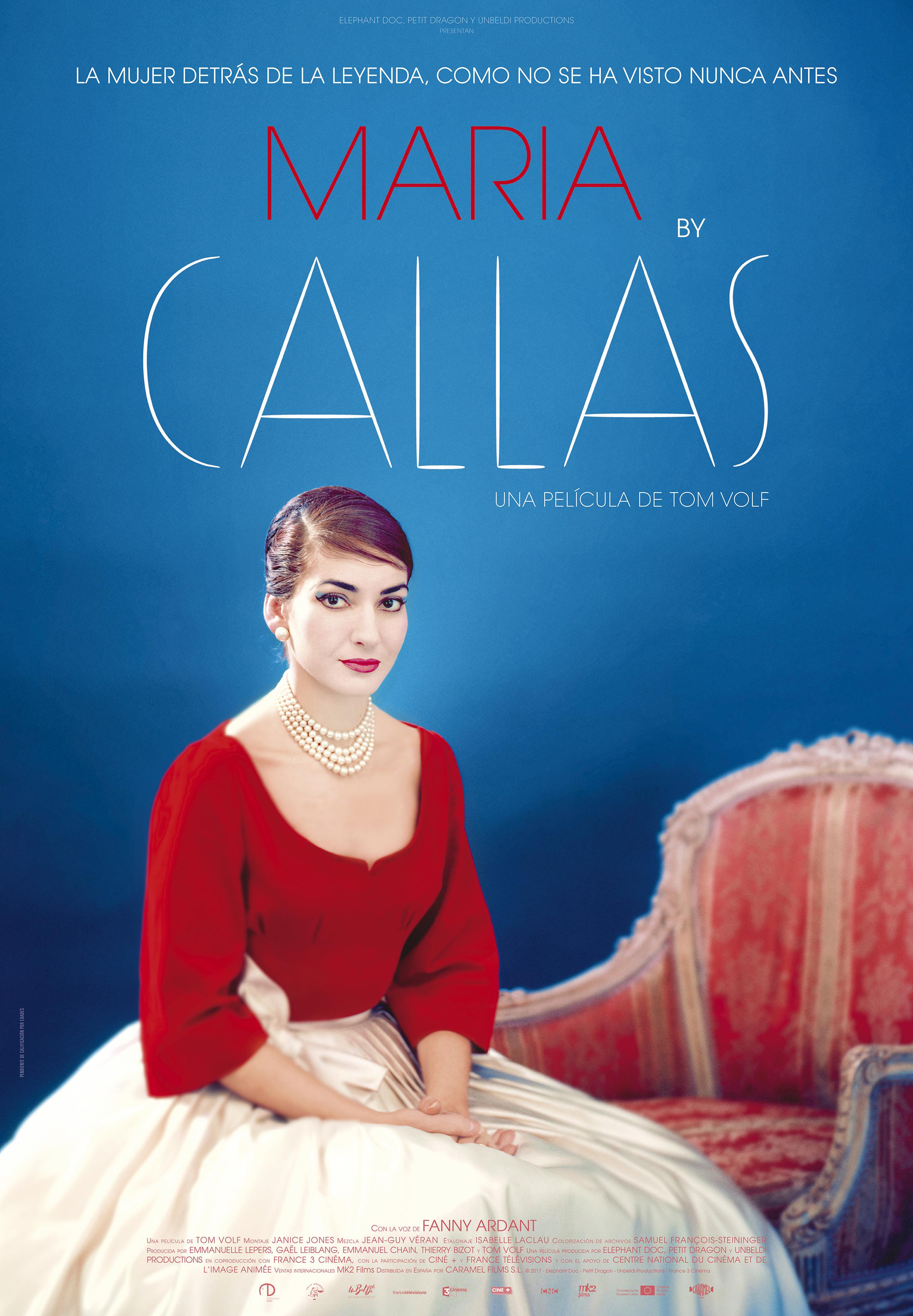 Maria By Callas, La Pel·lícula