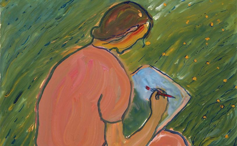 """Visita Guiada A L'exposició """"Vida? O Teatre?""""de Charlotte Salomon"""