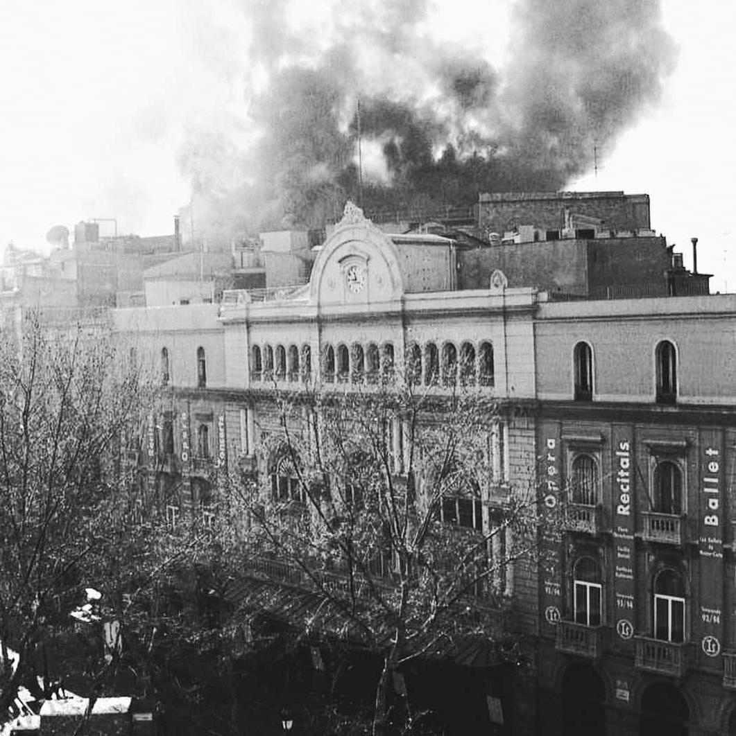 25 Años Del Incendio Del Gran Teatre Del Liceu