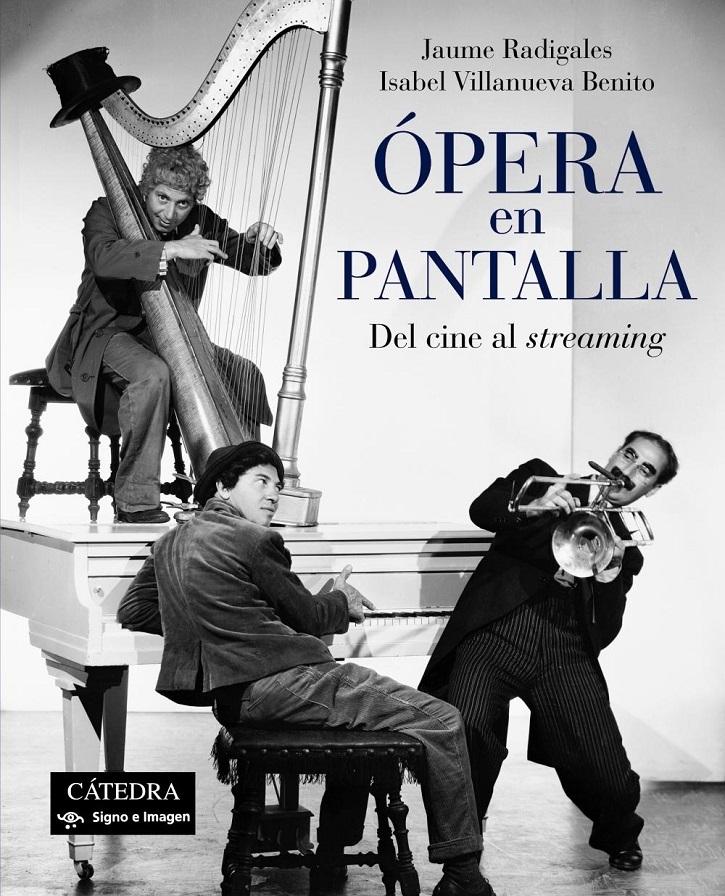 """Presentació Del Llibre """"Ópera En Pantalla"""" De Jaume Radigales I Isabel Villanueva"""