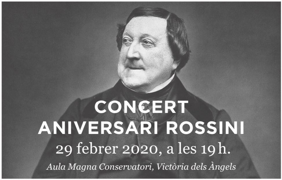 Promoció Especial Per Al Concert Aniversari Rossini