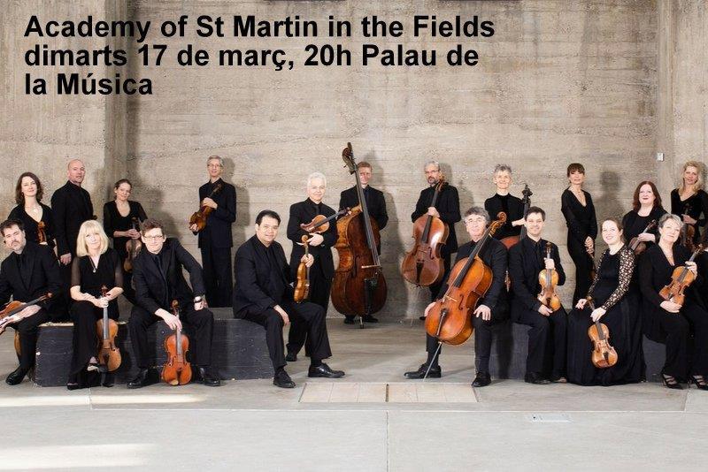 Promo Especial Para El Concierto De La Academy Of St Martin In The Fields En El Palau De La Música