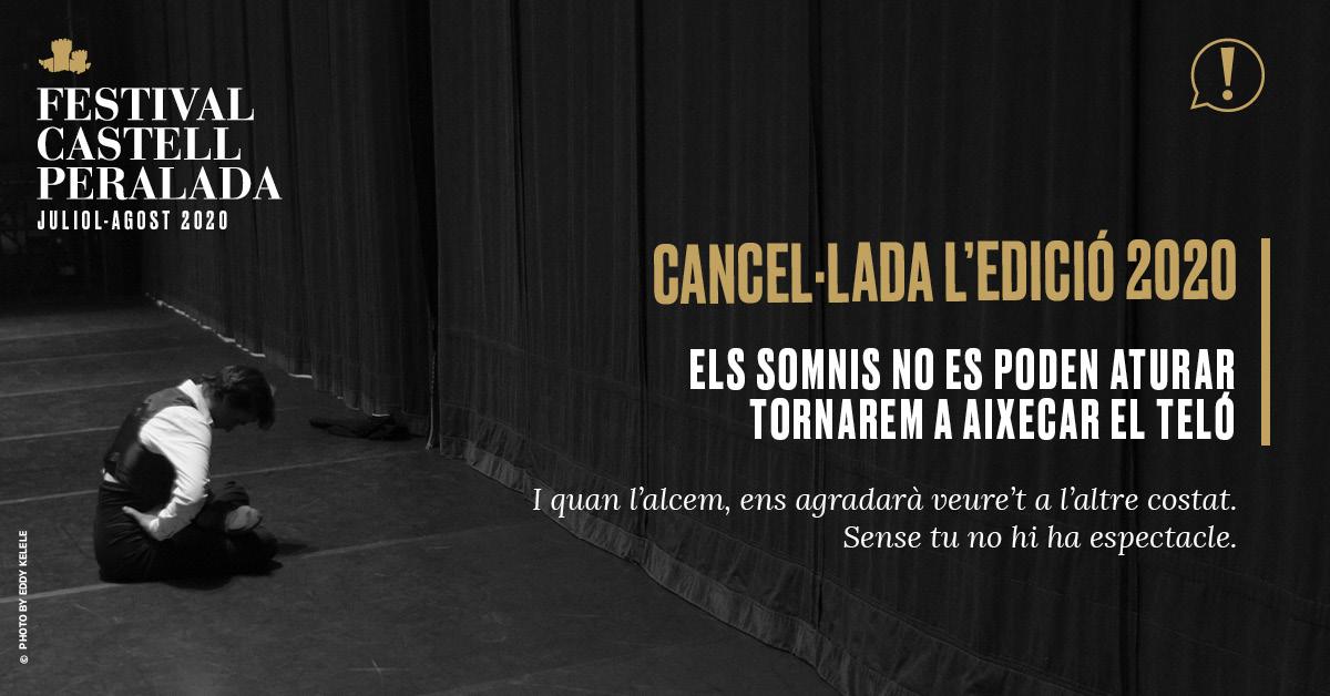 El Festival De Peralada Cancel·la L'edició Del 2020
