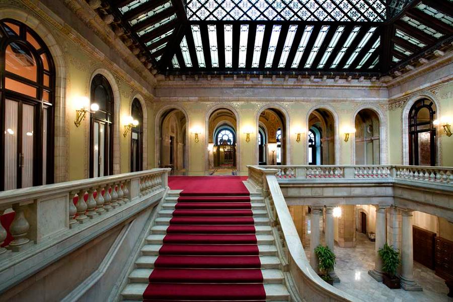 Visita Virtual Al Parlament De Catalunya