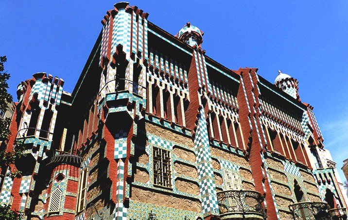 Visita Guiada A La Casa Vicens De Gaudí