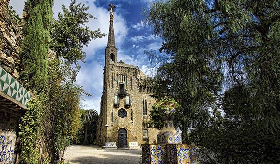 Visitamos La Torre Bellesguard De Gaudí